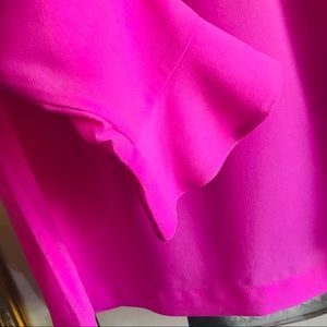 Banana Republic Tops - 🌺Banana Republic Hot Pink Blouse